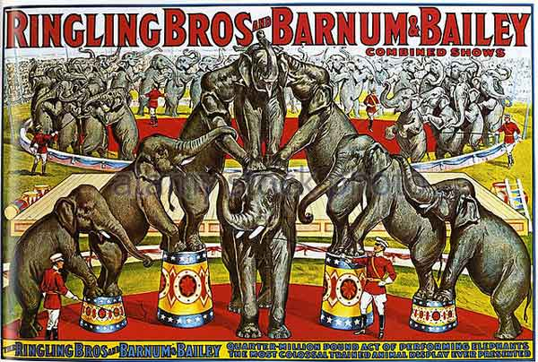 Episode 097 – Ringling Bros. and Barnum & Bailey, The Greatest Show on Earth